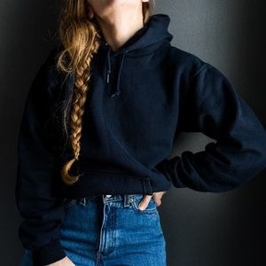 Vintage Tops - Vintage Hoodie Sweatshirt